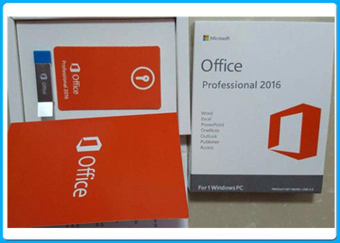 3,0 USB Microsoft Office 2016 favorable más la licencia dominante para 1 PC de Windows