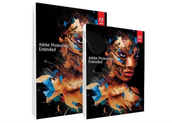 China Software del diseño gráfico de Adobe del mac, versión completa extendida de Adobe Photoshop CS6 distribuidor